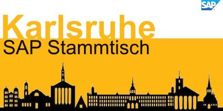 SAP Stammtisch Karlsruhe 2019.9 Tickets