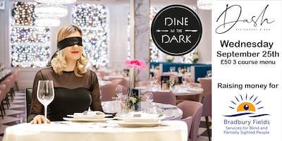 Dine in the Dark at Dash