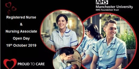 Registered Nursing & Nursing Associate Open Day tickets