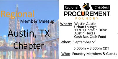 Greater Austin TX Member Meetup –  September 2019