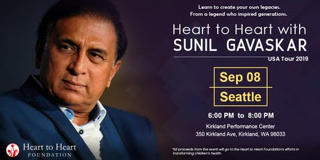 Heart to Heart with Sunil Gavaskar tickets