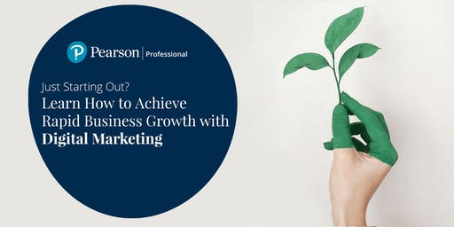 Pearson Professional Meetups: Achieve Business Growth w/ Digital Marketing
