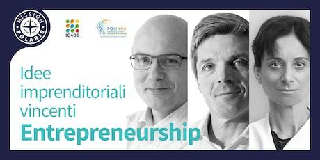 Corso di Entrepreneurship - Idee Imprenditoriali Vincenti biglietti