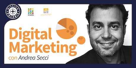 Corso Intensivo in Digital Marketing tickets