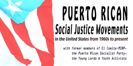 Puerto Rican Social Justice Movements in U.S. from the 1960s to present tickets