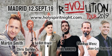 HOLY SPIRIT NIGHT MADRID  entradas
