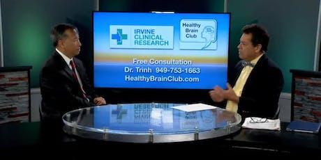 Healthy Brain Series at the Cypress Senior Center tickets