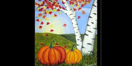 Autumn Art Night - Painting with Judi Jorge