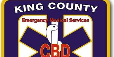 King County EMS EMD CBD Continuing Education Training - 8 Hours tickets