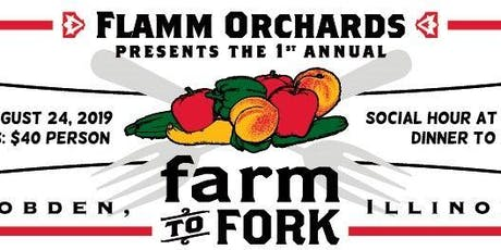 Farm to Fork dinner tickets