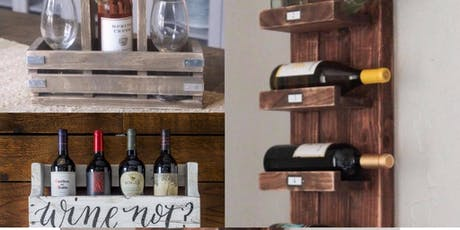 Choose a wine rack to build! tickets