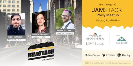 The Inaugural JAMstack Philly Meetup tickets