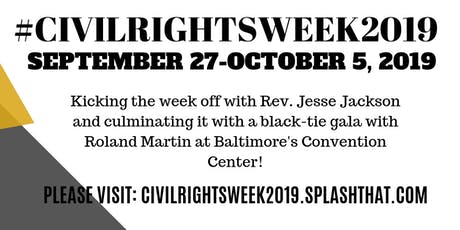 Civil Rights Week 2019 tickets
