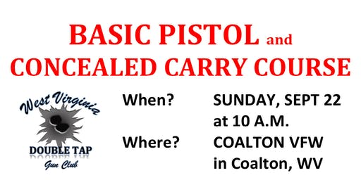 Basic Pistol & Concealed Carry Course
