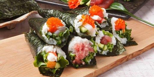 Temaki Sushi (Hand Roll) Class at Korin