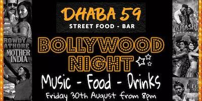 Dhaba59 Presents Bollywood Night