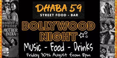 Dhaba59 Presents Bollywood Night tickets