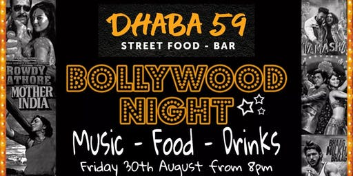 Dhaba59 Presents Bollywood Night