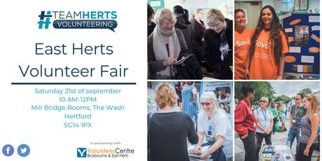 #THV East Herts Volunteer Fair tickets