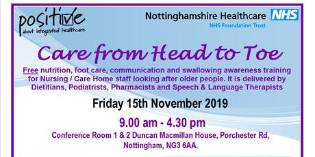 Care from Head to Toe - November 2019 tickets