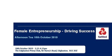Female Entrepreneurship - Driving Success tickets