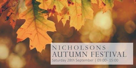 Nicholsons Autumn Festival tickets
