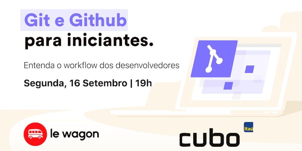 Git e Github para Iniciantes Tickets, Mon, Sep 16, 2019 at 7