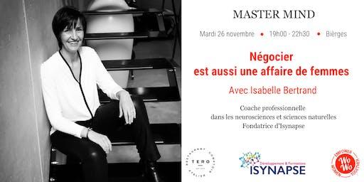 Master Mind - Négocier est aussi une affaire de femmes, Isabelle Bertrand - BW