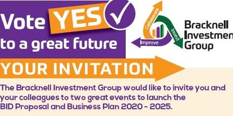 Bracknell Investment Group Lunchtime Drop In Anytime Event 1 tickets