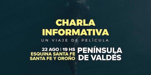 Charla viaje Península de Valdés