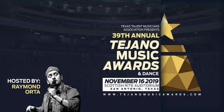 39th annual Tejano Music Awards & Dance tickets