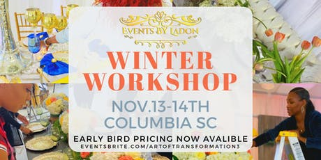 Events planners winter workshop  tickets