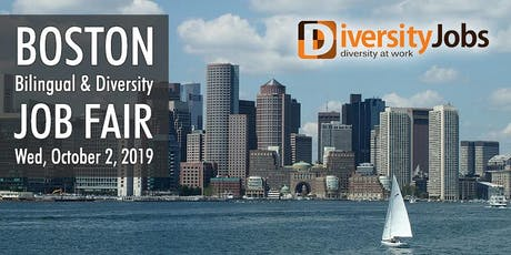 Boston Bilingual & Diversity Job Fair tickets