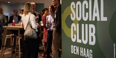 Jaarborrel Social Club Den Haag tickets