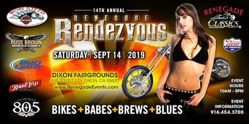 14th Annual Renegade Rendezvous Bike + Babes + Blues + Brews