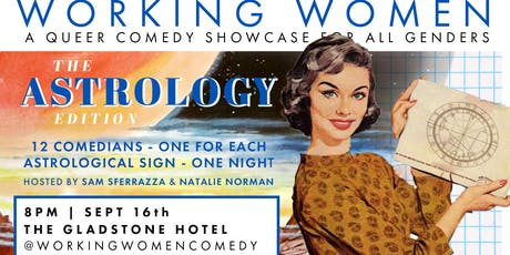 Working Women Comedy - The Astrology Edition tickets