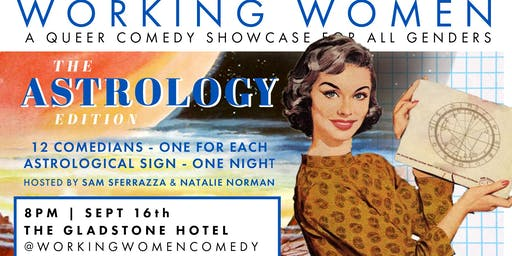 Working Women Comedy - The Astrology Edition