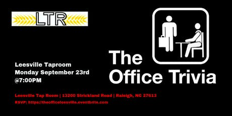 The Office Trivia at Leesville Tap Room tickets