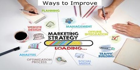 Ways to Improve & Strengthen Your Marketing Efforts  FREE 3 HR CE Conyers tickets