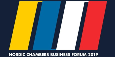 Nordic Chambers Business Forum 2019 tickets
