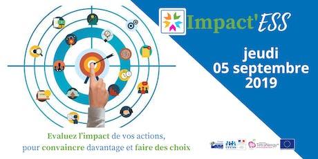 Impact'ESS: Évaluer l'impact social de sa structure ESS billets
