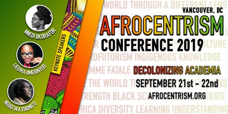 Afrocentrism Conference 2019 tickets