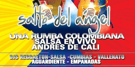 SALTO DE ÁNGEL / ANDRÉS DE CALI tickets