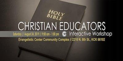 Christian Educators Interactive Workshop