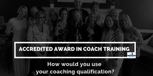 Accredited Award in Coach Training