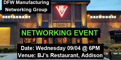 Manufacturing Professionals Networking Event Dallas tickets