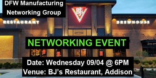 Manufacturing Professionals Networking Event Dallas