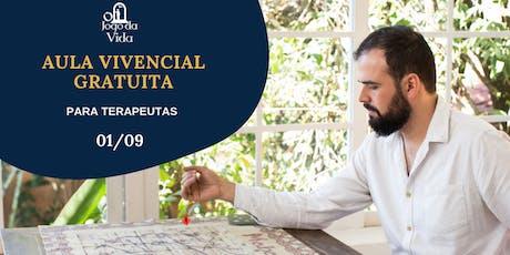 AULA VIVENCIAL GRATUITA PARA TERAPEUTAS tickets