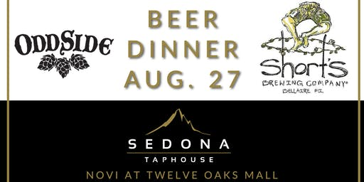 Odd Side Ales and Shorts Beer Dinner