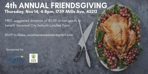 4th Annual Friendsgiving in Norwood